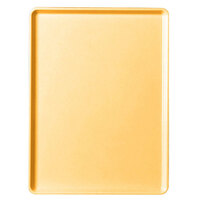 Cambro 1418D171 Tuscan Gold 14 inch x 18 inch Dietary Tray 12 / Case