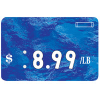 Universal Deli Number Tag - Sea Blue
