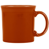 Homer Laughlin 570334 Fiesta Paprika 12 oz. Java Mug - 12/Case