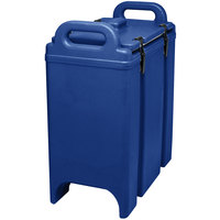 Cambro 350LCD186 Camtainer 3.375 Gallon Navy Blue Insulated Soup Carrier