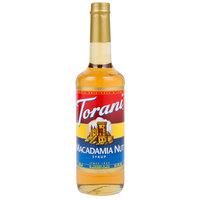 Torani 750 mL Macadamia Nut Flavoring Syrup