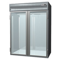 Delfield SARRI2-G 74.72 Cu. Ft. Two Section Glass Door Roll In Refrigerator - Specification Line