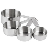 4-Piece Standard Stainless Steel Measuring Cup
