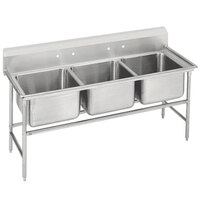 Advance Tabco 94-23-60 Spec Line Three Compartment Pot Sink - 74 inch