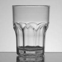 Carlisle 580607 Louis 6 oz. Clear Plastic Tumbler - 24 / Case