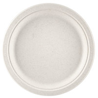 Green Wave Ovation Sugarcane / Bagasse OV-P010 10 inch Biodegradable and Compostable Premium Plate - 500 / Case