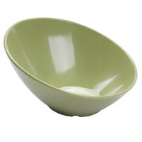 GET B-788-AV Diamond Harvest 16 oz. Avocado Cascading Melamine Bowl