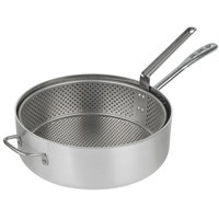 Vollrath 68228 Wear-Ever 12 Qt. Heavy Duty Aluminum Fryer Pot with Basket