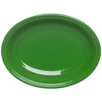 Homer Laughlin 456324 Fiesta Shamrock 9 5/8 inch Platter - 12/Case