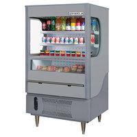 Beverage Air VM12-1-G Gray VueMax Air Curtain Merchandiser 35 inch - 12 Cu. Ft.