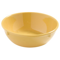 Carlisle 4385822 Honey Yellow Dayton 16 oz. Nappie Bowl - 48 / Case