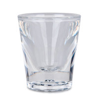 GET SW-1427 (SW1427) SAN Plastic 1 oz. Shot Glass 24/Case