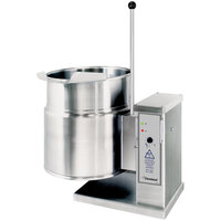 Cleveland KET-6-T 6 Gallon Tilting 2/3 Steam Jacketed Electric Tabletop Kettle - 208/240V