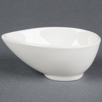American Metalcraft PORB250 3 oz. White Egg-Shaped Porcelain Cup