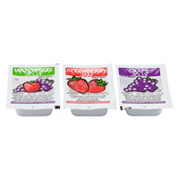 Grape, Strawberry & Mixed Fruit Jelly - (200) .5 oz. Portion Cups / Case