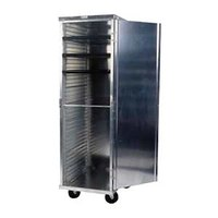 Win-Holt EC1824-C 24 Pan End Load Enclosed Bun / Sheet Pan Rack - Assembled