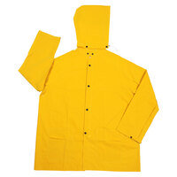 Yellow 2 Piece Rain Jacket - XL