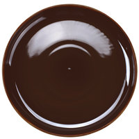 Tuxton BAA-1315 DuraTux 13 1/8 inch Caramel China Pizza Serving Plate - 6/Case