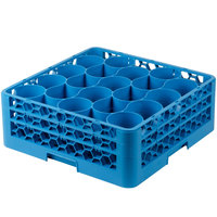 Carlisle RW20-214 OptiClean NeWave 20 Compartment Glass Rack with 3 Extenders
