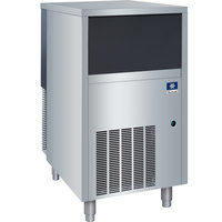Manitowoc RNS-0244A 19 3/4 inch Air Cooled Undercounter Nugget Ice Machine with 40 lb. Bin - 172 lb.