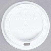 Dart Solo TL31R2-0007 10 oz. White Plastic Travel Lid - 1000/Case