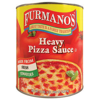 Furmano's #10 Can Heavy Pizza Sauce - 6/Case