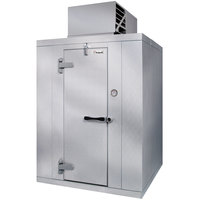 Kolpak QS7-126-FT Polar Pak 12' x 6' x 7' Indoor Walk-In Freezer with Top Mounted Refrigeration