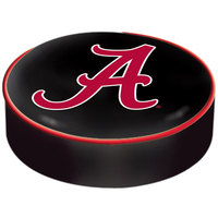 Holland Bar Stool BSCAL-A 14 1/2 inch University of Alabama Vinyl Bar Stool Seat Cover