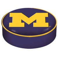Holland Bar Stool BSCMichUn 14 1/2 inch University of Michigan Vinyl Bar Stool Seat Cover