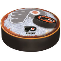 Holland Bar Stool BSCPhiFly-B-D2 14 1/2 inch Philadelphia Flyers Vinyl Bar Stool Seat Cover