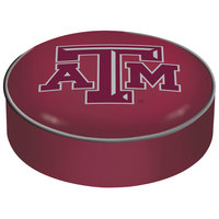 Holland Bar Stool BSCTexA-M 14 1/2 inch Texas A&M Vinyl Bar Stool Seat Cover