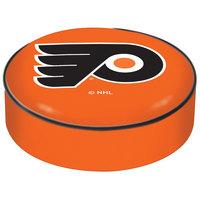 Holland Bar Stool BSCPhiFly-O 14 1/2 inch Philadelphia Flyers Vinyl Bar Stool Seat Cover