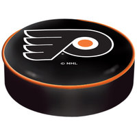 Holland Bar Stool BSCPhiFly-B 14 1/2 inch Philadelphia Flyers Vinyl Bar Stool Seat Cover