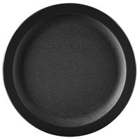 Carlisle PCD20903 Black 9 inch Polycarbonate Narrow Rim Plate 48/Case