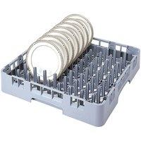 Cambro PR314151 Soft Gray 9 x 9 Camrack Peg Rack Standard