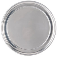 American Metalcraft HATP7 7 inch Wide Rim Pizza Pan - Heavy Weight Aluminum