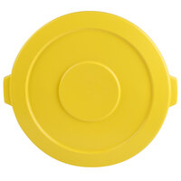 44 Gallon Yellow Trash Can Lid