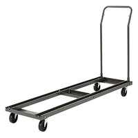 Alera ALEFTCART Black Chair and Table Cart - 20 3/4 inch x 50 5/8 inch - 75 3/8 inch