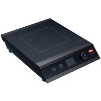 Hatco IRNG-PC1-18 Rapide Cuisine Black Countertop Induction Range / Cooker - 120V, 1800W