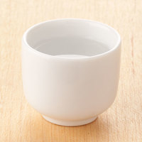 Town 51401 1 1/2 oz. Ceramic Sake Cup - 12/Pack