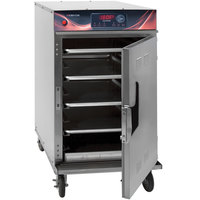 Cres Cor 1000-CH-SS-SPLIT-DE Half Height Stainless Steel Cook and Hold Oven with Standard Controls - 208/240V, 3 Phase, 3000/2650W