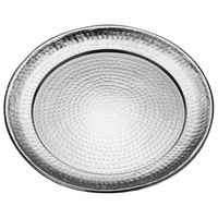 American Metalcraft HMRST1601 16 inch Round Stainless Steel Hammered Serving Tray