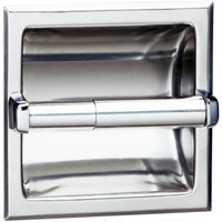 Bobrick B-667 Recessed Toilet Tissue Dispenser with Bright Polished Finish