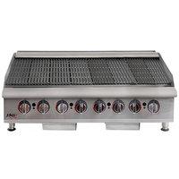 APW Wyott HCB-2448i Liquid Propane 48 inch HD Cookline Radiant Charbroiler - 160,000 BTU