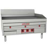 MagiKitch'n MKE-60-E 60 inch Electric Countertop Griddle with Thermostatic Controls - 208V, 3 Phase, 28.5 kW
