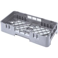 Cambro HBR258151 Soft Gray Camrack Half Size Open Base Rack