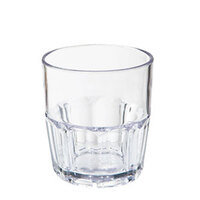 GET 9909-1-CL 9 oz. Clear Break-Resistant Plastic Bahama Tumbler - 72 / Case