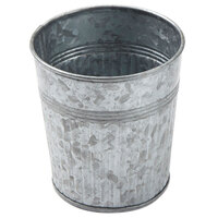 American Metalcraft GFC335 24 oz. Galvanized Metal French Fry Cup