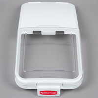 Rubbermaid 9F78 Replacement Lid with Scoop Hook for Rubbermaid 3602-88 (FG9F7800CLR)