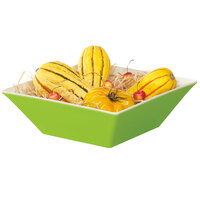 GET ML-248-KL Keywest 5.7 Qt. Keylime Square Melamine Bowl - 3 / Case